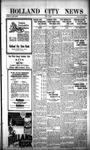 Holland City News, Volume 53, Number 41: October 9, 1924