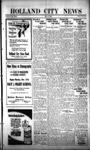 Holland City News, Volume 53, Number 46: November 12, 1924