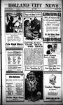 Holland City News, Volume 53, Number 50: December 11, 1924