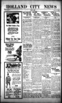 Holland City News, Volume 54, Number 17: April 30, 1925