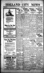 Holland City News, Volume 54, Number 35: September 3, 1925