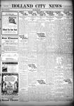 Holland City News, Volume 54, Number 45: November 12, 1925