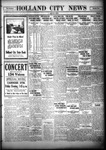 Holland City News, Volume 55, Number 15: April 15, 1926 by Holland City News
