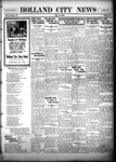 Holland City News, Volume 55, Number 34: August 26, 1926