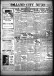 Holland City News, Volume 55, Number 35: September 2, 1926