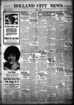Holland City News, Volume 55, Number 40: October 7, 1926