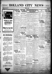 Holland City News, Volume 55, Number 44: November 4, 1926