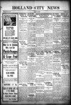 Holland City News, Volume 56, Number 15: April 14, 1927
