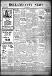 Holland City News, Volume 56, Number 17: April 28, 1927