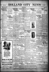 Holland City News, Volume 56, Number 32: August 11, 1927
