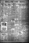 Holland City News, Volume 56, Number 33: August 18, 1927 by Holland City News