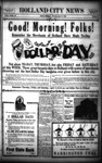 Holland City News, Volume 58, Number 15: April 11, 1929
