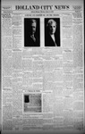Holland City News, Volume 58, Number 44: October 31, 1929 by Holland City News