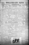 Holland City News, Volume 59, Number 33: August 14, 1930