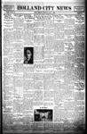 Holland City News, Volume 61, Number 15: April 8, 1932