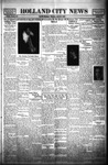 Holland City News, Volume 62, Number 16: April 13, 1933