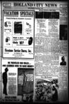 Holland City News, Volume 63, Number 30: July 19, 1934
