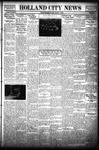 Holland City News, Volume 63, Number 42: October 11, 1934
