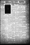 Holland City News, Volume 63, Number 50: December 6, 1934