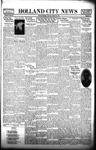 Holland City News, Volume 66, Number 12: March 25, 1937