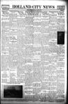 Holland City News, Volume 66, Number 17: April 29, 1937