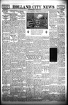 Holland City News, Volume 66, Number 37: September 16, 1937 by Holland City News