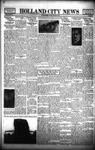 Holland City News, Volume 66, Number 47: November 25, 1937