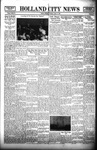 Holland City News, Volume 67, Number 33: August 18, 1938