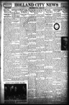Holland City News, Volume 68, Number 2: January 12, 1939