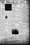 Holland City News, Volume 68, Number 22: June 1, 1939