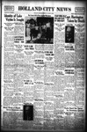 Holland City News, Volume 68, Number 31: August 3, 1939 by Holland City News