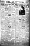 Holland City News, Volume 68, Number 44: November 2, 1939 by Holland City News