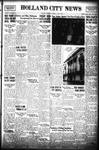 Holland City News, Volume 69, Number 23: June 6, 1940
