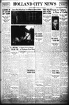 Holland City News, Volume 69, Number 33: August 15, 1940