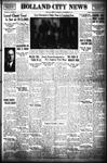 Holland City News, Volume 69, Number 39: September 26, 1940
