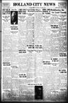 Holland City News, Volume 69, Number 40: October 3, 1940