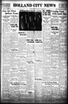Holland City News, Volume 70, Number 42: October 16, 1941