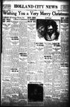 Holland City News, Volume 70, Number 52: December 24, 1941 by Holland City News