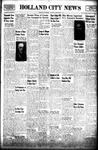 Holland City News, Volume 72, Number 35: September 2, 1943 by Holland City News