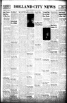 Holland City News, Volume 72, Number 43: October 28, 1943 by Holland City News