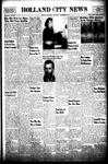 Holland City News, Volume 74, Number 47: November 21, 1945