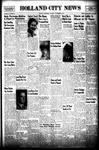 Holland City News, Volume 74, Number 48: November 29, 1945 by Holland City News