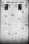 Holland City News, Volume 76, Number 14: April 3, 1947