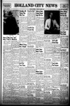 Holland City News, Volume 77, Number 50: December 9, 1948