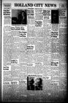 Holland City News, Volume 78, Number 16: April 21, 1949
