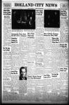 Holland City News, Volume 78, Number 38: September 22, 1949