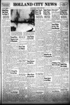 Holland City News, Volume 79, Number 1: January 5, 1950