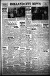 Holland City News, Volume 79, Number 42: October 19, 1950