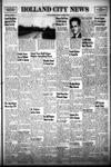 Holland City News, Volume 79, Number 44: November 2, 1950