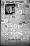 Holland City News, Volume 81, Number 17: April 24, 1952